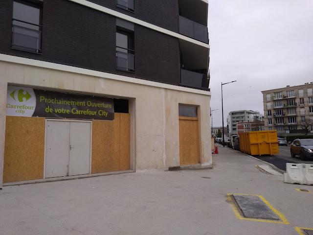 Création d'un Carrefour City entre le square Saint-Roch et l'hôtel de ville du Havre