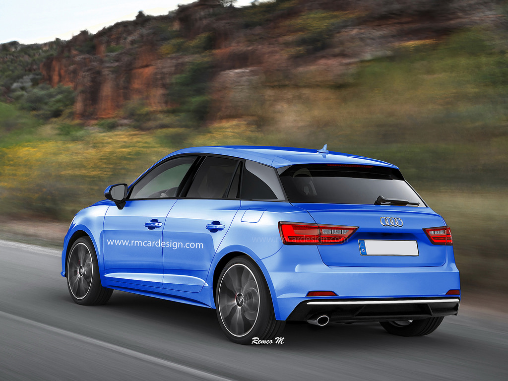 new audi a1 to be more dynamic than ever before carscoops. Black Bedroom Furniture Sets. Home Design Ideas