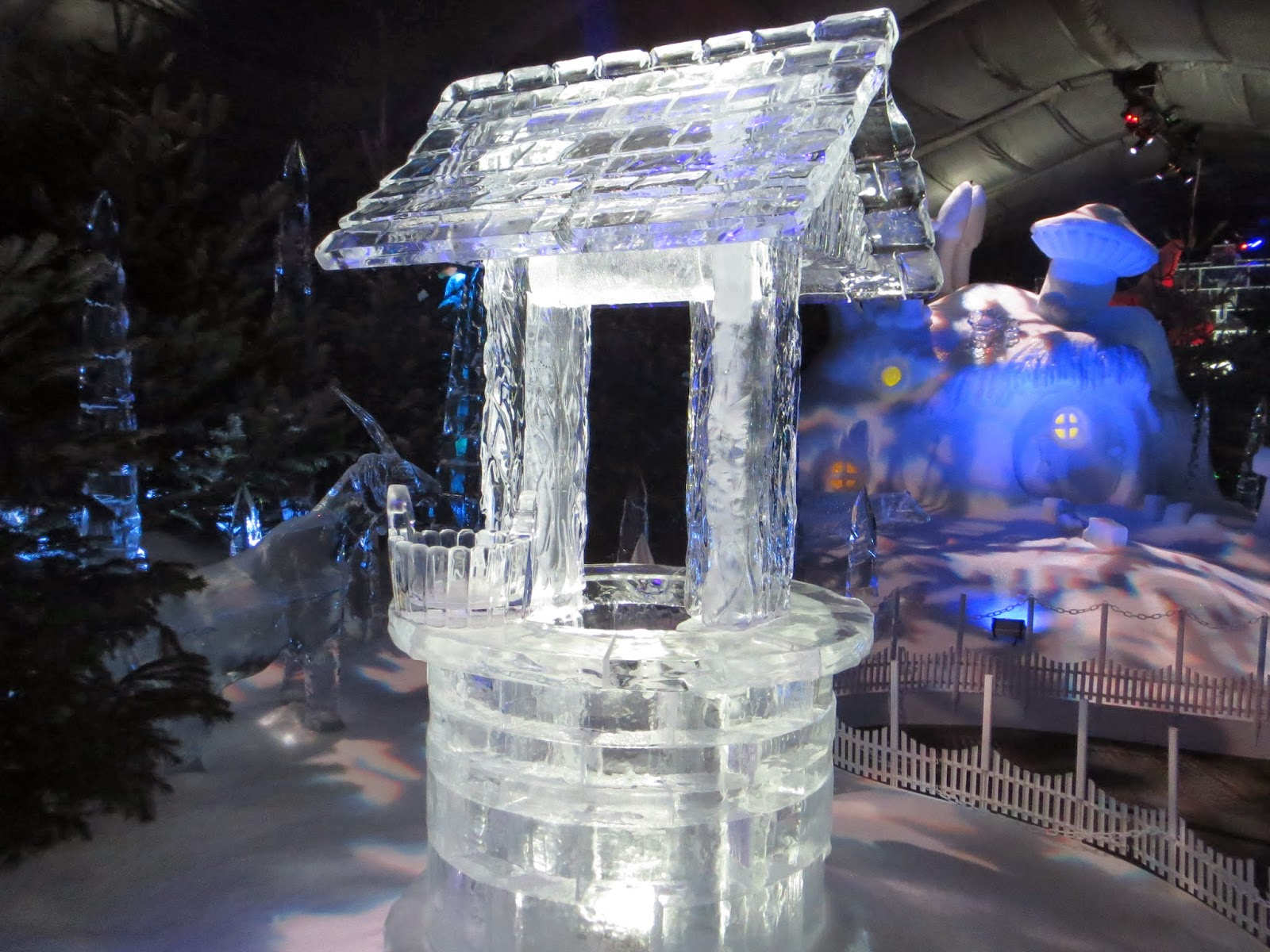 Winter wonderland london ice kingdom