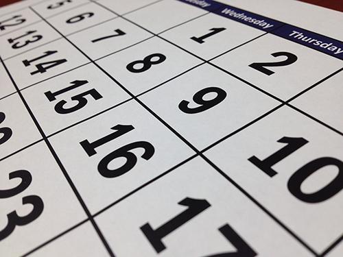 旧正月は毎年日付が異なります。
