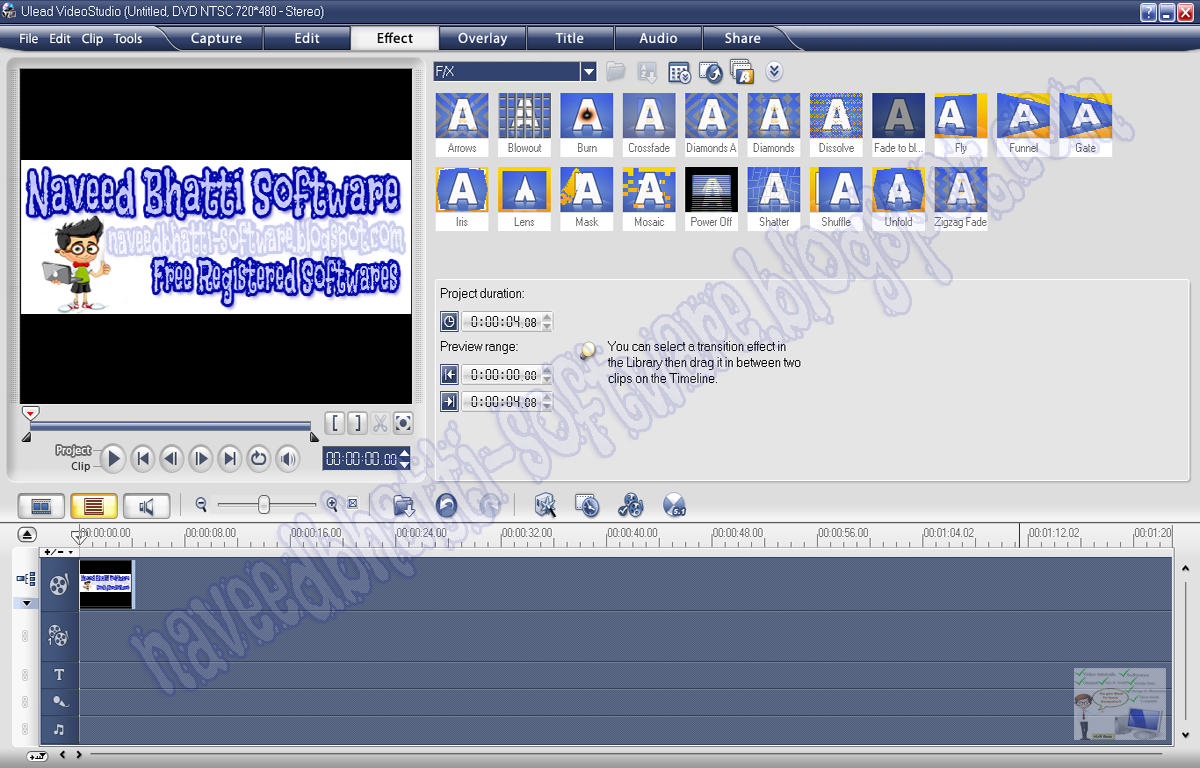 ulead video studio 10 plus full crack