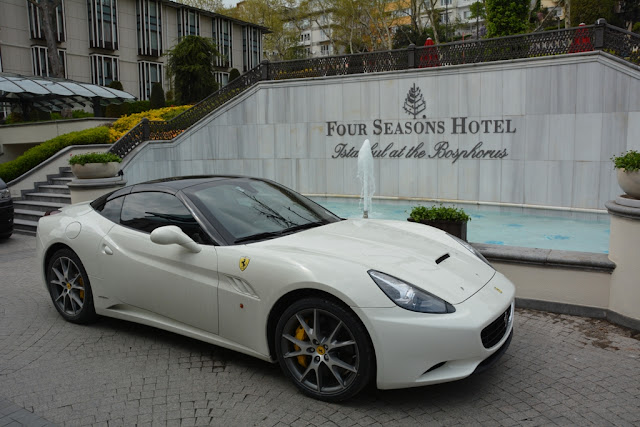 Ferrari at Four Seasons in Istanbul