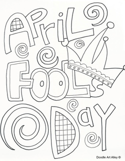 Happy april fool's day 2017 coloring pages [all fool's day]