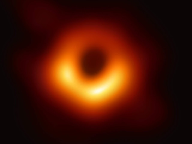 ASTRONOMERS UNVEIL THE FIRST PHOTO OF A BLACK HOLE, and it's incredible!
