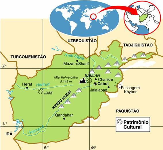 Afeganistão | Geografia e Turismo do Afeganistão
