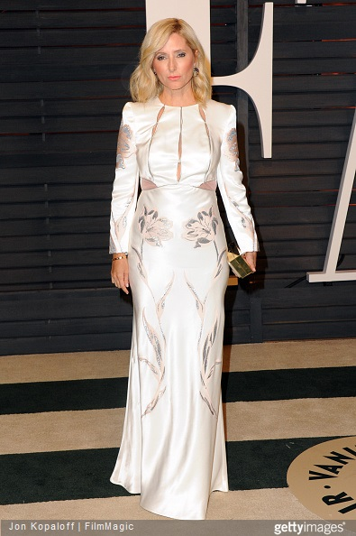 Princess Marie Chantal attends the 2015 Vanity Fair Oscar Party