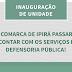 Defensoria estadual vai inaugurar unidade em Ipirá nesta semana