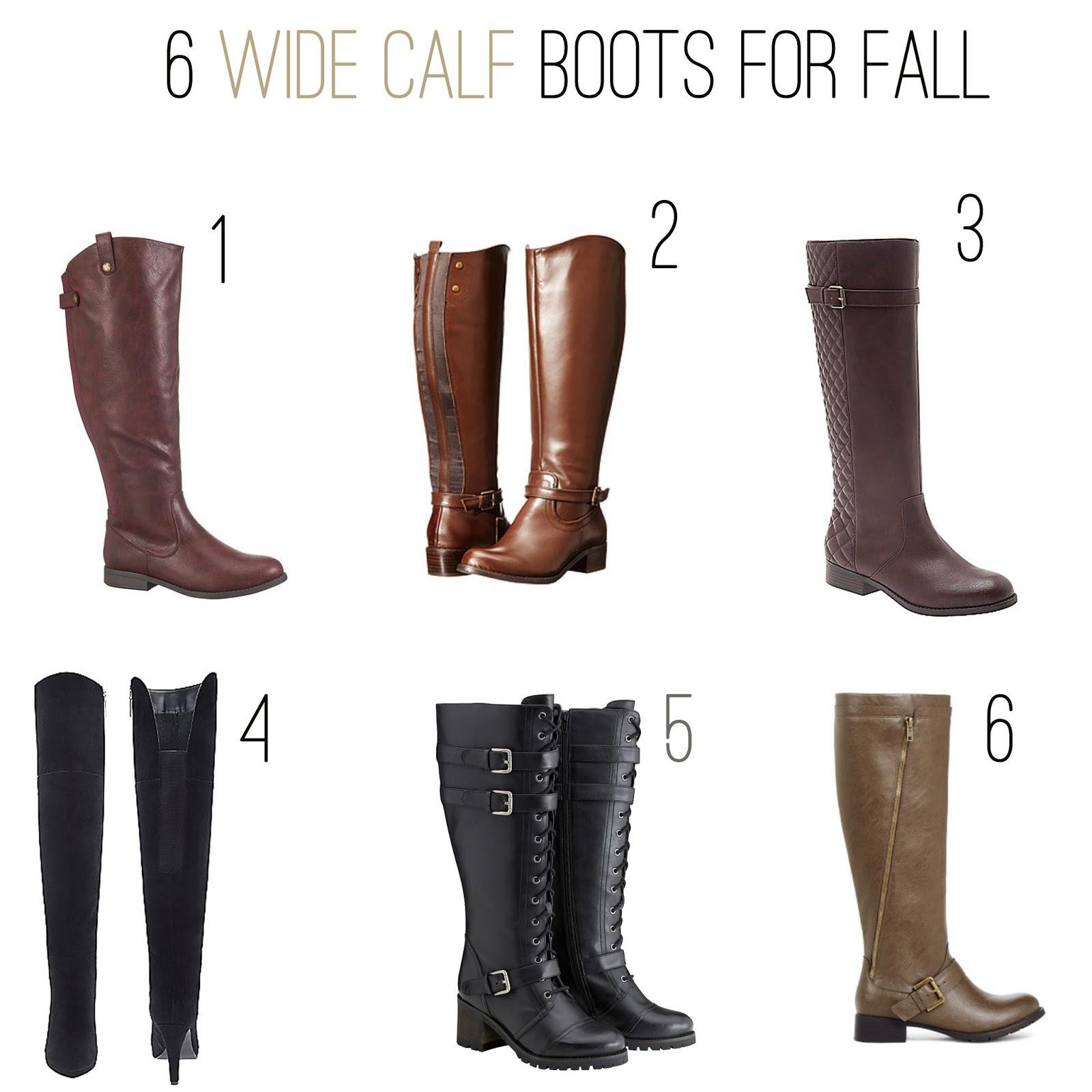 a4f4be61ab4 Wide Calf Boots for Fall - Garnerstyle