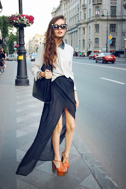 Inspire Me: The Asymmetrical Skirt