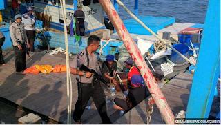 Polair Langsa Hilang Di Laut Saat Tangkap Kapal Asing
