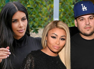 Kim Kardashian Reacts To Rob Kardashian's Engagement To Blac Chyna