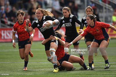 New Zealand vs Spain PyeongChang 2018 Rugby Sevens