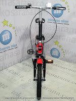 16 Inci United Stylo Folding Bike