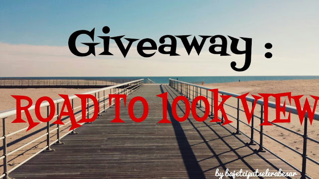 GIVEAWAY by BCSB : ROAD TO 100K VIEW