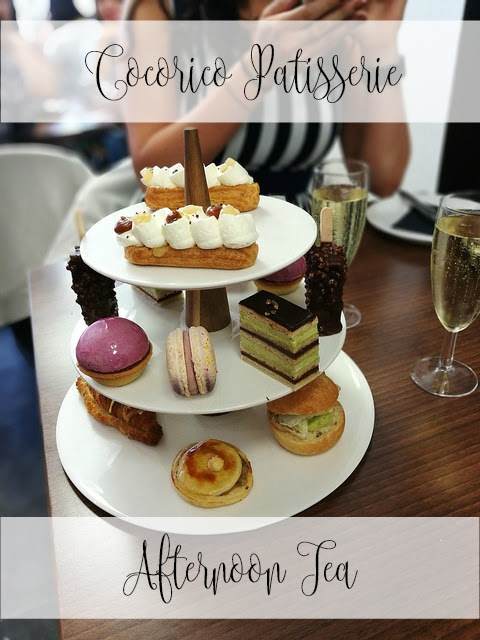 Cocorico Patisserie Afternoon Tea