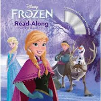 Travel Toy Read Along Book Frozen