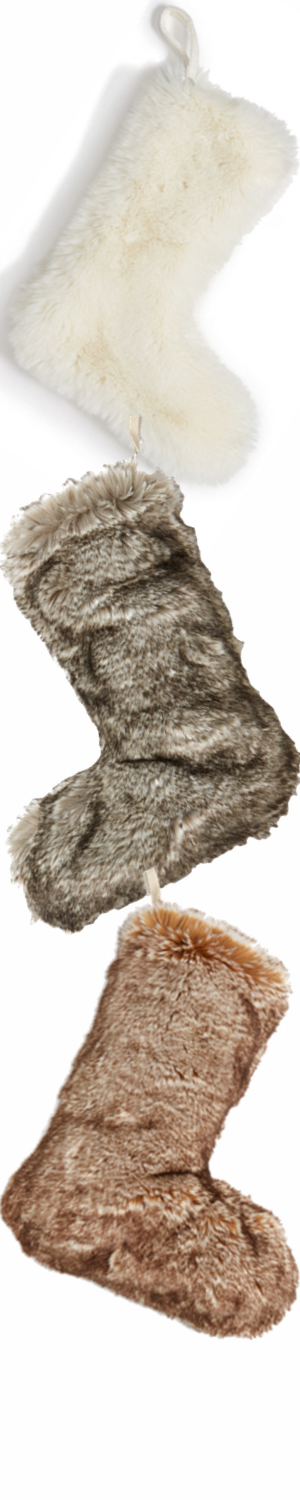 Nordstrom at Home 'Cuddle Up' Faux Fur Stocking
