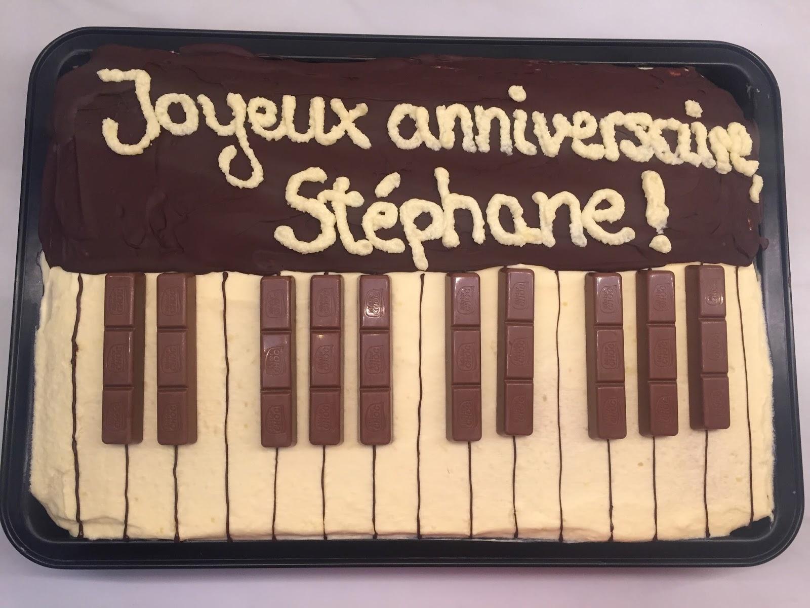 Patisserie Nadine Donauwellen Piano Kuchen Fur Stephane