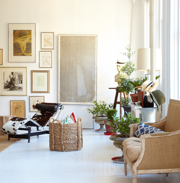 sara ruffin costello interior design and her own home