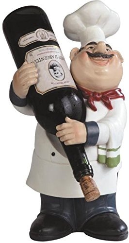 Fat Chef Statues For Wine Lovers