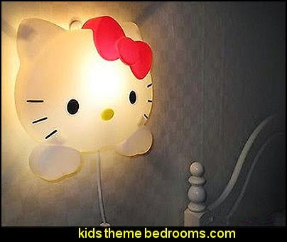 Hello Kitty Bracket Light Wall Lamp   Hello Kitty bedroom ideas - Hello Kitty bedroom decor - Hello Kitty bedroom decorating - Hello Kitty bedroom furniture - Hello Kitty Wallpaper Mural - Hello Kitty Throw Pillows - Hello Kitty bedding - Hello Kitty Rugs