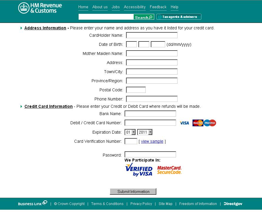 com Onlineservice Site Security com Tech Fake Dataprotectioncenter confirm-hmrc And Hmrc Confirm-hmrc – com