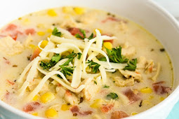 Mexican Chicken Corn Soup
