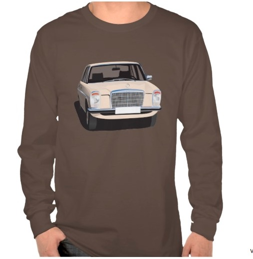 Mercedes-Benz w114 w115 long sleeve shirt