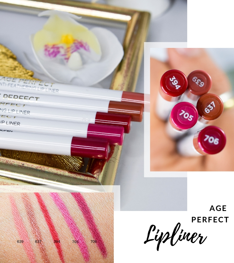 Übersicht und Test der L'Oréal Age Perfect Lipliner