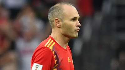 Spain living legend Andres Iniesta retires after world cup exit