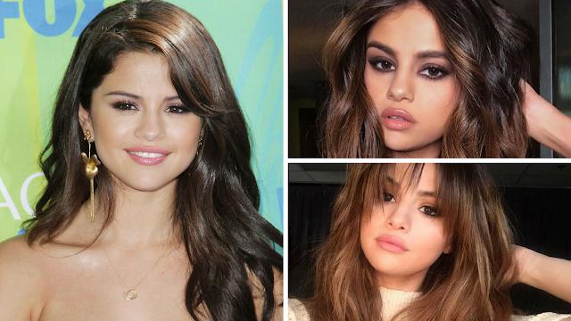 Selena Gomez Long Curly Hair