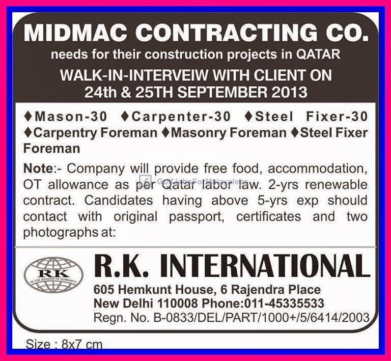 Midmac Contracting Company Qatar