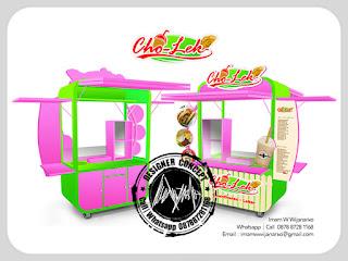 produksi desain gerobak leker