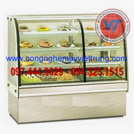 Tủ trưng bày giữ nóng thực phẩm, trưng bày bánh sinh nhật