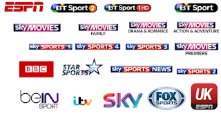 FREE ALL SPORTS IPTV LINKS 21/08/2017