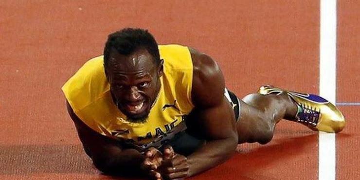 Sprinter Legendaris Usain Bolt Akhiri Karir Setelah Terjatuh