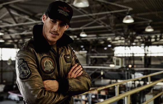 Aeronautica Militare, bomber, coat, cazadora, sportwear, sportstyle, Top Gun, Tom Cruise, blog moda masculina, moda masculina,
