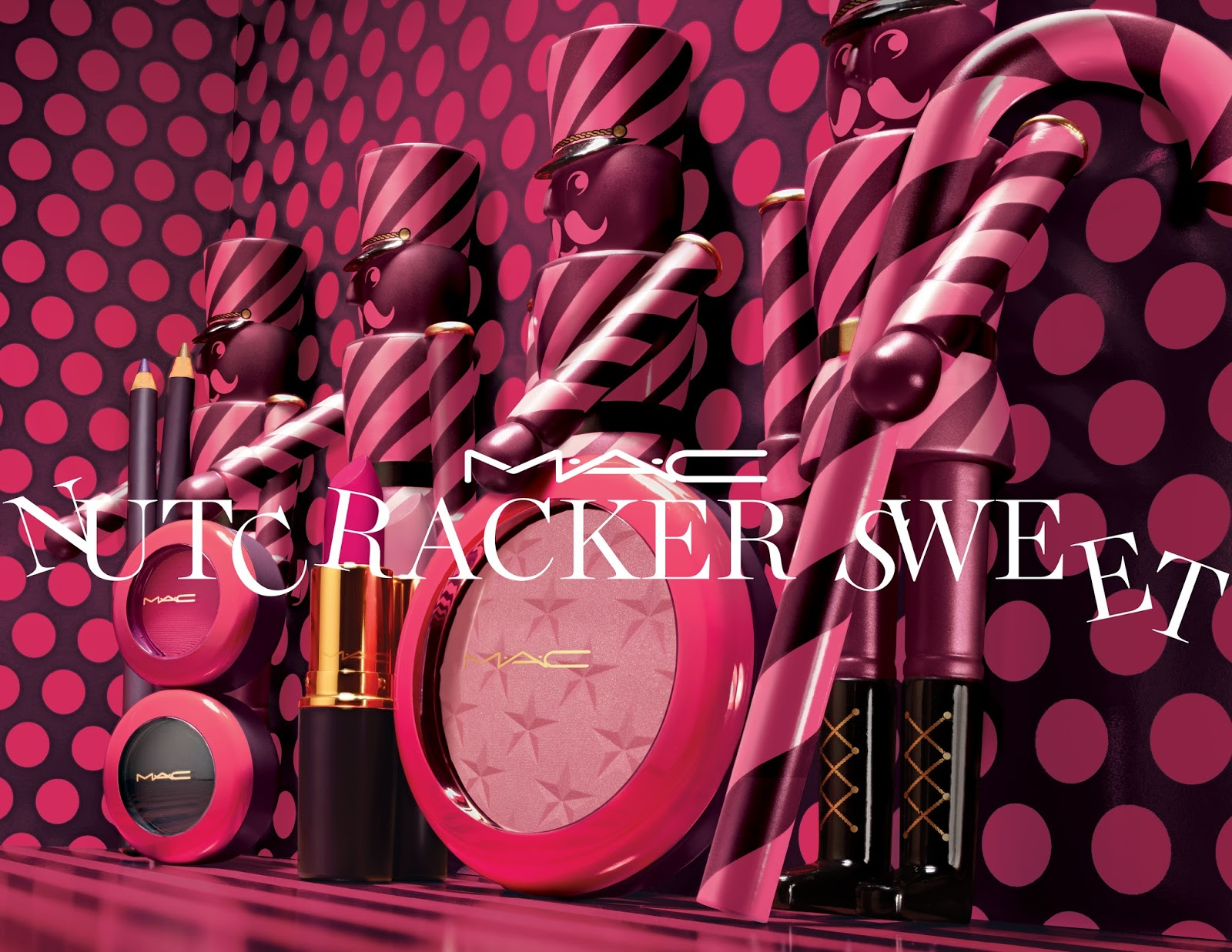 Fivetwo beauty 2016 holiday beauty gift no2 mac nutcracker lose yourself in an eccentric kingdom of oversized treats and rosy cheeked nutcrackers twist turn and tumble deeper into the land of dolls solutioingenieria Image collections