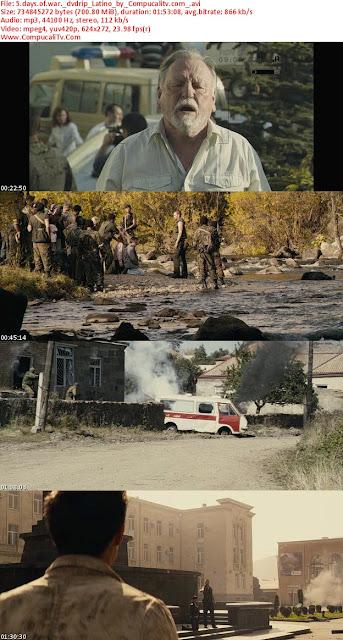 5 Dias de Guerra [5 Days of War] DVDRip Subtitulos Español Latino 2011 Descargar