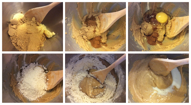Gingerbread cupcake batter