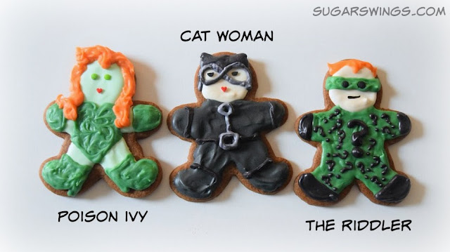 Poison Ivy Cat Women The Riddler Cookies