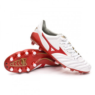 MIZUNO MORELIA NEO FERNANDO TORRES LTD ED FOOTBALL BOOTS White-High risk-Gold