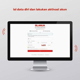 Aktivasi Akun BLANJA.com UKM Asli Indonesia