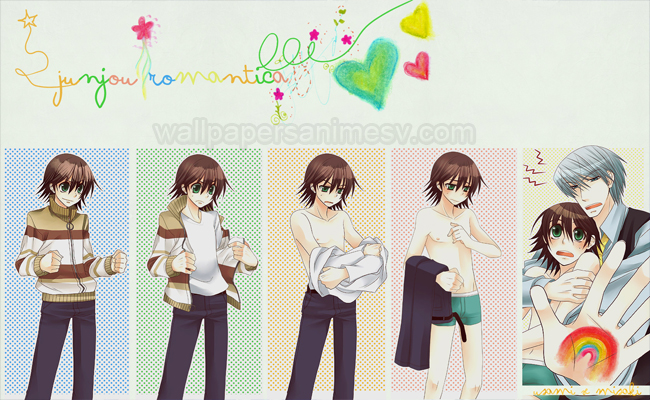 Junjou Romantica Wallpapers hd Anime imágenes fondos pantalla escritorio Backgrounds