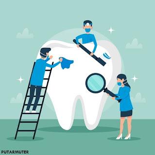 penanganan gigi patah yang harus di lakukan