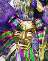A Mardi Gras Mask
