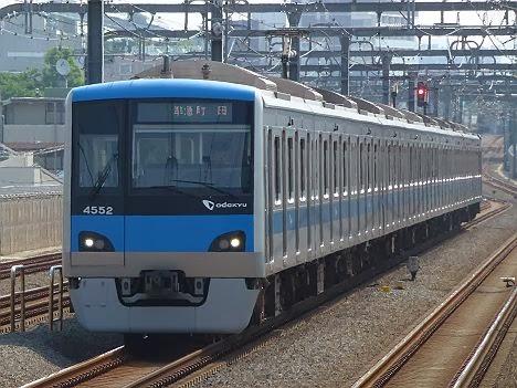 小田急線 準急 町田行き 4000形