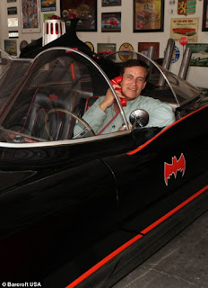Driving In The Batmobile