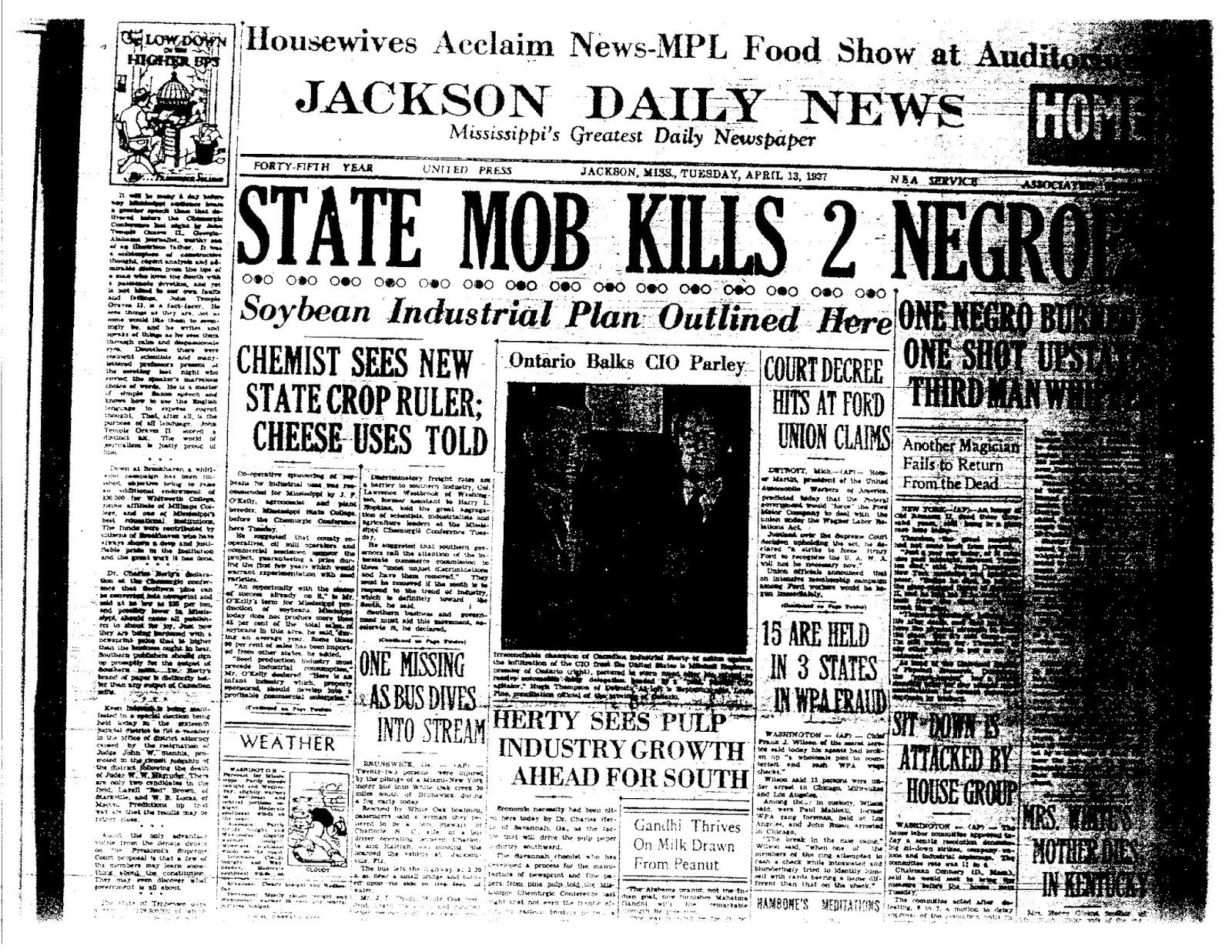 Lynching 1930