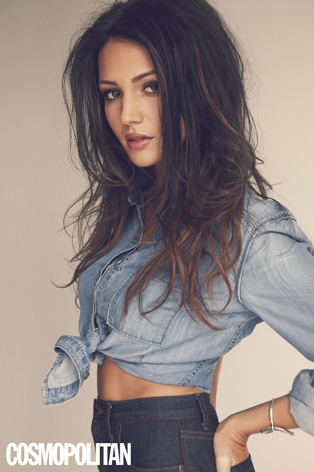 Michelle Keegan In Cosmopolitan Magazine UK May 2015 Issue HD Photos